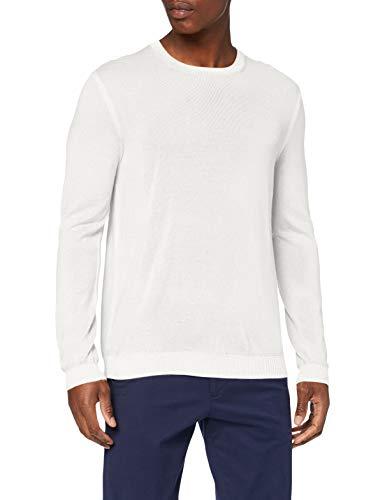 ESPRIT Collection 090EO2I301 Pullover Herren, Weiß (114/OFF WHITE 5), XL