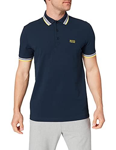 BOSS Paddy 10212415 01 Camisa de Polo, Dark Blue401, XL para Hombre