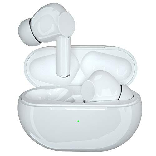 Cokvok Bluetooth Kopfhörer, Kabellos Kopfhörer In Ear Headset mit HiFi Stereo Sound, CVC8.0 Lärmminderung Wireless Earbuds mit HD Mikrofon und Ladekästchen, 15H Spielzeit