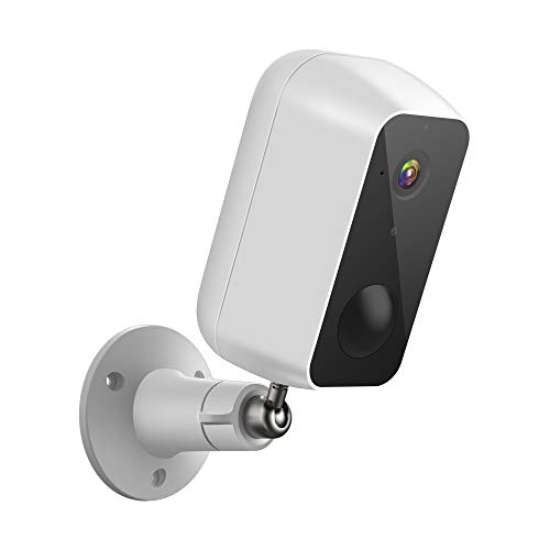 LaView Security Camera Outdoor,Rechargeable Battery Powered 9600mAh,Wireless Outdoor Camera Waterproof, WiFi Camera 1080P HD,Include 1 32GB SD Card,AI Motion Detection,Night Vision,USA Cloud Service