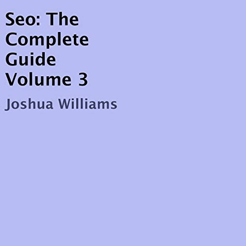 『SEO: The Complete Guide, Volume 3』のカバーアート