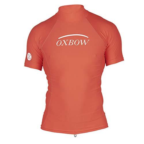 Oxbow N1BRIGHT Rashvest - Camiseta de manga corta para hombre, color rojo...