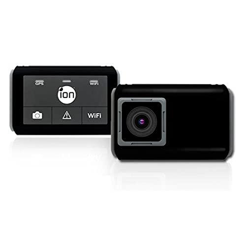 iON Dash Cam Wi-Fi Telecamera da Cruscotto, Nero
