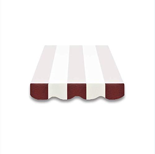 Toldo plástico Faldón Toldo tela para plástico solo cenefa 3m/4M spd019
