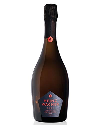 HEINZ WAGNER SEKT® Jahrgang 2017 | Sekt in Champagner-Qualität aus deutscher Manufaktur-Herstellung | Hergestellt mit traditioneller Flaschengärung | Ideales Sekt-Geschenk (1 x 0.75 l)