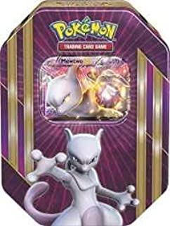 lote pokemon Caja Metalica Mewtwo en Ingles (Contiene: 4 Sobres ...