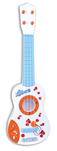 Bontempi 20 2225 Born Baby-Gitarre mit 4 Nylon-Seiten
