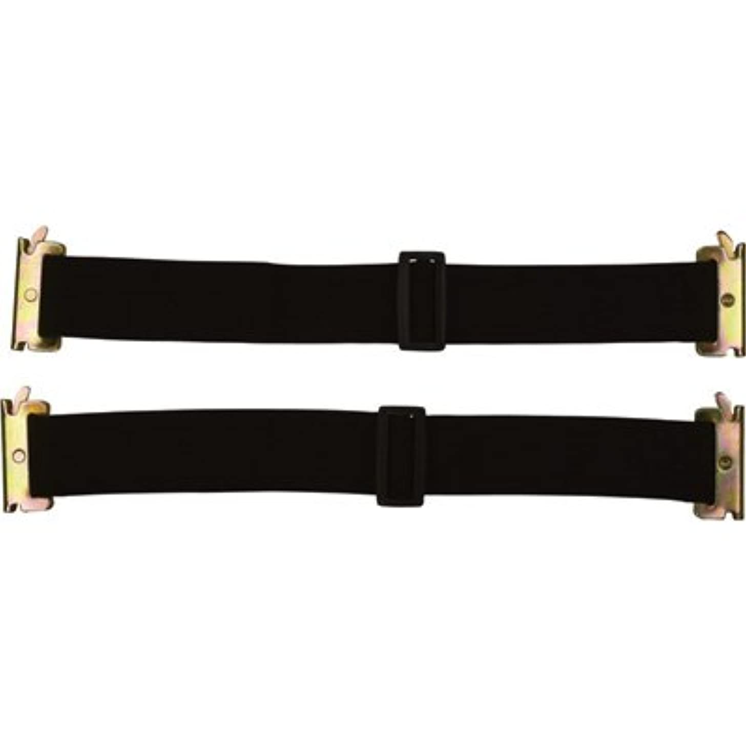 CargoSmart Adjustable Bungee Straps - 2-Pack, 16in.-24in.L, For E-Track and X-Track