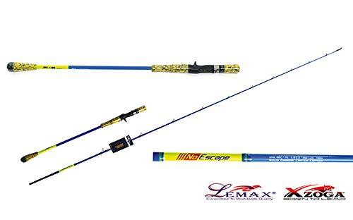 Xzoga Lemax No Escape Slow Jigging Rod Length: 7'0″ (2.10)