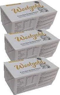 ウエストランド NZ産 グラスフェッドバター 有塩ポンドバター 454g×3個セット