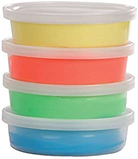 BodyHealt Therapy Putty Special Kit, 2-oz Each, Red, Yellow, Green and Blue/Therapy Putty for Occupational and Physical Therapy (1 Set)