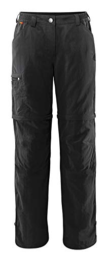 VAUDE Damen Hose Women's Farley ZO Pants IV, black, 42, 038730100420