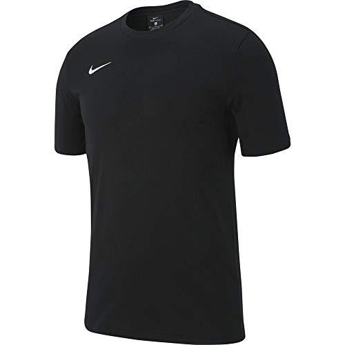 Nike Herren T-Shirt M Tee TM Club19 Ss, Black/(White), 3XL, AJ1504, Black/Black/Black/(White)