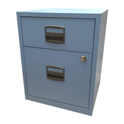 Home Office Rollcontainer • Schreibtisch- Metallcontainer • Bisley PFAM1S1F