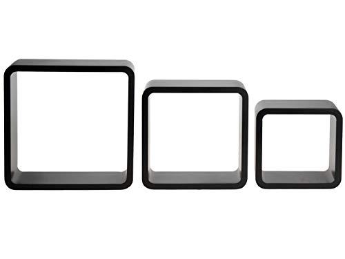 Fair-Shopping Libreria scaffale da parete appendere cubo Cube Cubes cubo bianco & nero