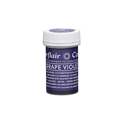 Sugarflair Spectral Concentrated Paste Colour - Grape Viol
