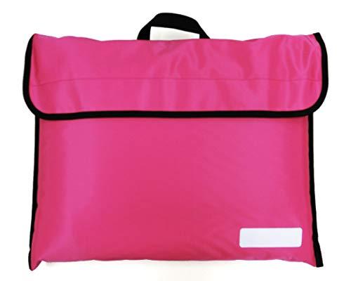 HIRO 防災頭巾カバー 小学校 背もたれに固定 丈夫なナイロン製 水を弾き、汚れにくい撥水加工 日本製 オリジナル 防災頭巾入れ BZC1712 (ピンク)