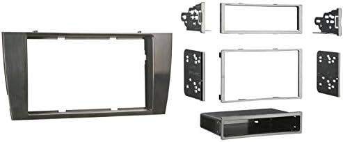 Metra 99-9501G Single or Double DIN Installation Dash Kit for 2002-2007 Jaguar X-Type or 2003-2006 Jaguar S-Type Gray