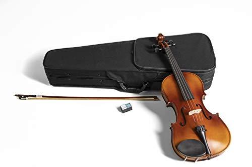 GEWApure Violagarnitur HW Hartholz 42,0 cm spielfertig mit Kinnhalter, Feinstimmsaitenhalter, Bogen, Kolophonium, Etui mit Tragegurt