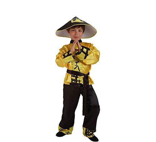 El Rey del Carnaval Disfraz Chino Mandarin 3/5 AOS
