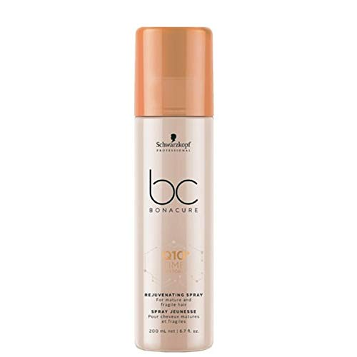 Schwarzkopf Professional BONACURE Q10 Time Restore Ageless Plumping Spray Conditioner, 200 ml