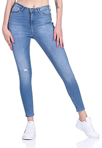 ONLY Female Skinny Fit Jeans ONLBlush Knöchel- S30Light Blue Denim