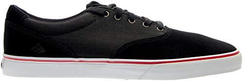 Emerica Mens Provost Slim Vulc Skate Sneakers Shoes Casual - Black - Size 5 D