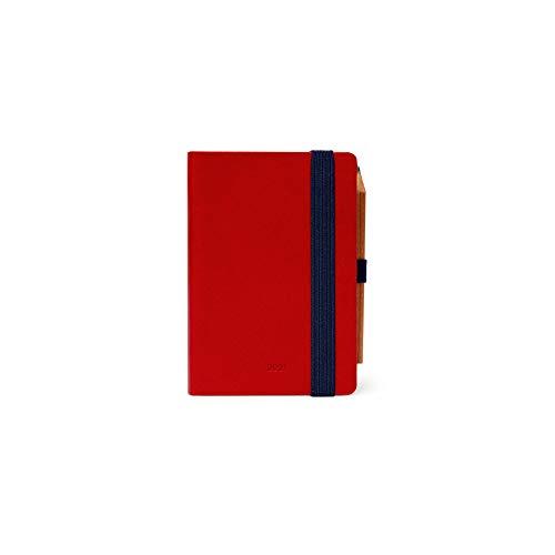 Legami Kalender 2021 Mini, 12 Monate, Rot