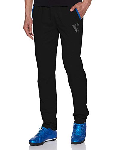 Van Heusen Athleisure Men's Track Pant (50043_Medium_Black)