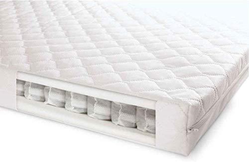 Superior Deluxe Baby Cot Bed Mattress 120x60x10cm- Junior Bed Pocket Sprung British Made High Grade Density Foam