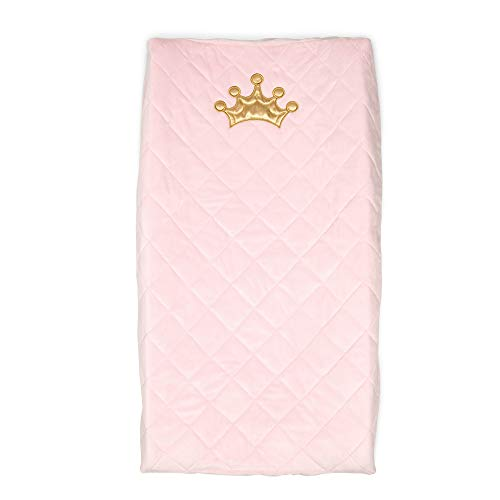 Boppy Changing Pad Cover, Pink Royal Princess, Minky Fabric
