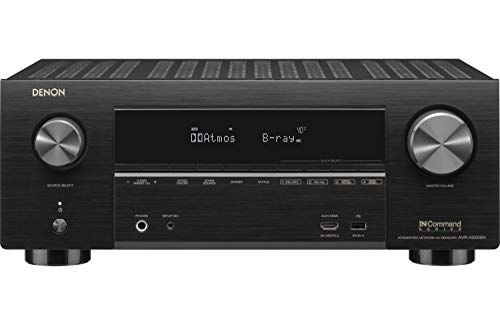 Denon AVR-X3500H 7.2-Channel 4K Ultra HD AV Receiver with HEOS, Black