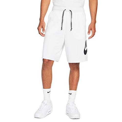 Nike Pantaloncino da Uomo Sportswear Alumni Bianco Taglia M cod AR2375-103