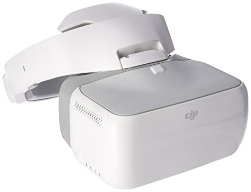 DJI Goggles Immersive FPV Double 1920×1080 HD Screens Drone Accessories, 110 mm, White