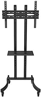 TV Mount Stands, Mobile cart TV Stand for 32-65 inch Plasma/LCD/LED (166cm)