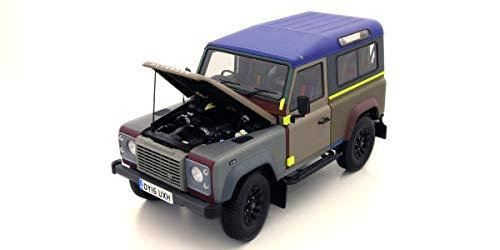 Almost Real 810214 - Land Rover Defender Paul Smith Edition 2015 - Escala 1/18 - Vehiculo en Miniatura - diecast