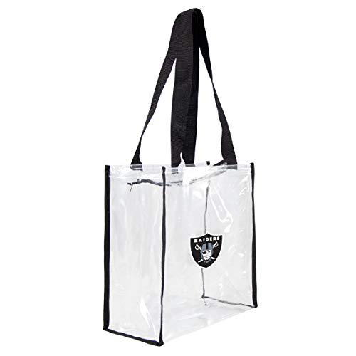 NFL Oakland Raiders Clear Square Stadium Tote