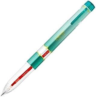 ゼブラ 多機能ペン サラサセレクト 5色ホルダー ブルーグリーン S5A15-BG