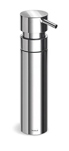 Blomus NEXIO Seifenspender in edler Optik, Seifendosierer aus Edelstahl poliert