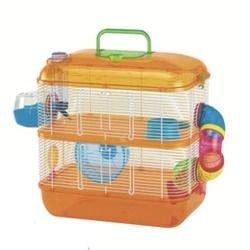 Arquizoo Jaula de Dos Pisos para Hamster o Pequeño Roedor