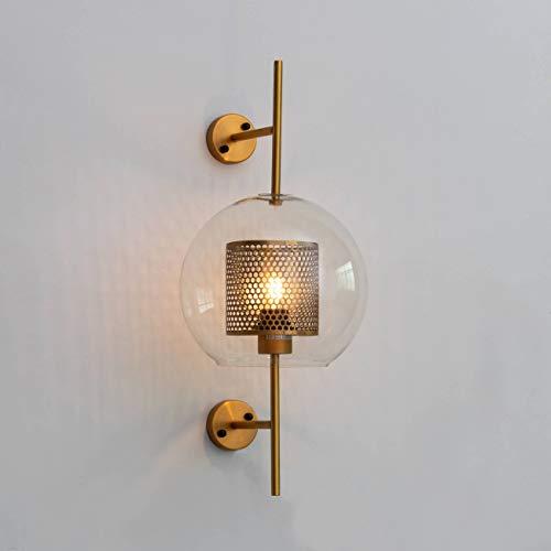 KOSILUM - Applique exotique style photophore - Carina - Lumière Blanc Chaud Eclairage Salon Chambre Cuisine Couloir - 1 x 60W - - E27 - IP20