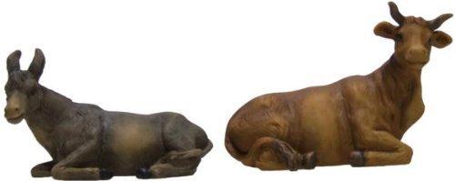 Ochs und Esel 2tlg. geeignet für 19cm Figuren