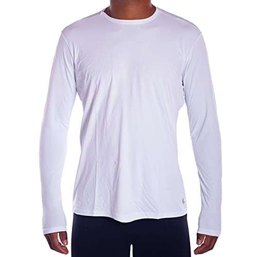 Camiseta Repelente UV, Lupo, Masculino, Branco Antártida, G