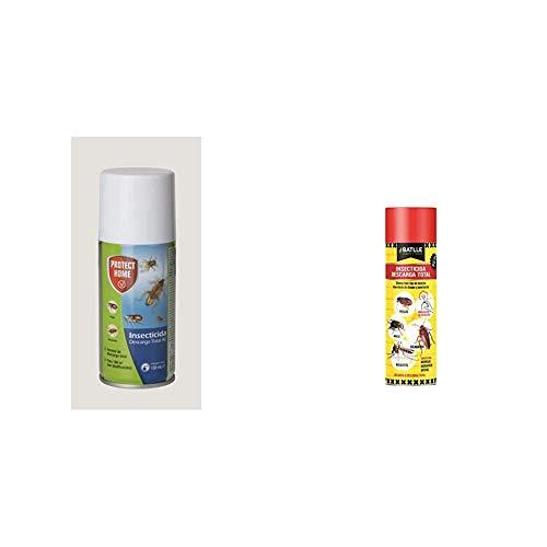 Bayer 279705557 Sbm Garden Insecticida Solfac Automatic Forte 150Ml, 5X5X14.7 Cm + Fitosanitarios - Insecticida Descarga Total Spray 250ml - Batlle