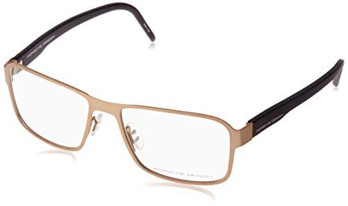 Porsche Design Brillengestelle P8290-D-56 Rechteckig Brillengestelle 56, Gold