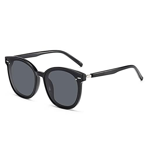 FSCLJ Gafas de Sol para Mujer, de Gran tamaño, con gradiente de Sapo, Gafas de Sol UV400, protección Ocular, Gafas de Sol antideslumbrantes para Ciclismo, Bicicleta, Pesca, conducción, Gafas de Sol