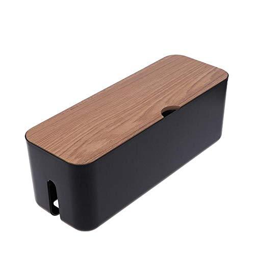 Kabelbeheerbox, creatieve power board datakoptelefoonbeheer lijnorganisator, kabelbox met verborgen kabel, thuis- en kantoorkabelgroep