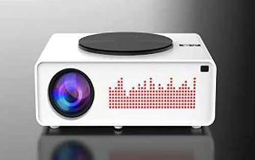 Proiettore WiFi Bluetooth Proiettore LED per Home Theater Nativo 1080P 5600 Lumen Wireless Compatibile con TV Stick HDMI PS4 Proiettore per Smartphone