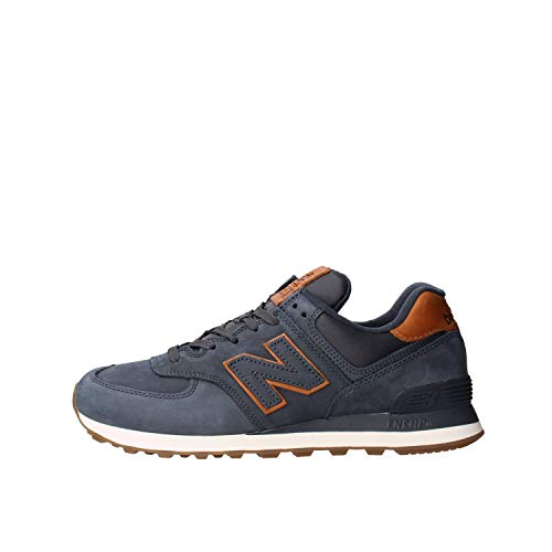 New Balance Mens ML574NBD_42,5 Sneakers, Navy, 42.5 EU