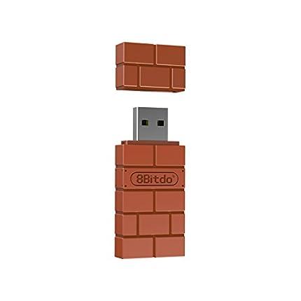 8Bitdo Wireless Bluetooth Adapter for Windows/Mac/Raspberry Pi - Nintendo Switch [Importación Inglesa]